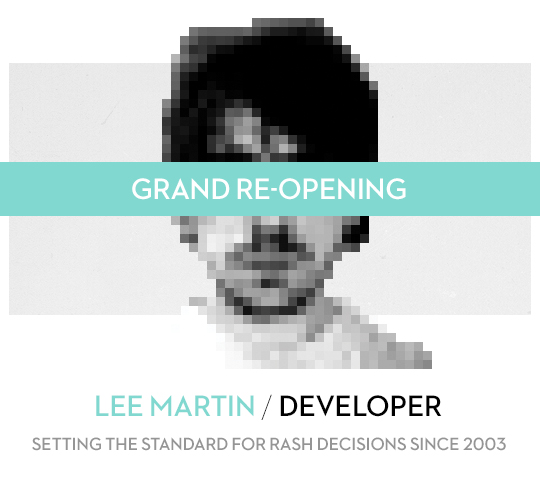 Lee Martin / Developer