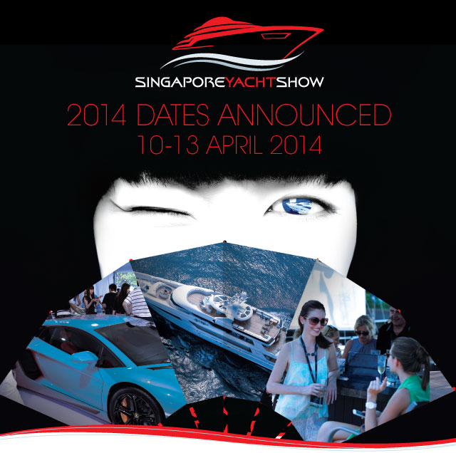 Singapore Yacht Show 2014 Dates Announced.