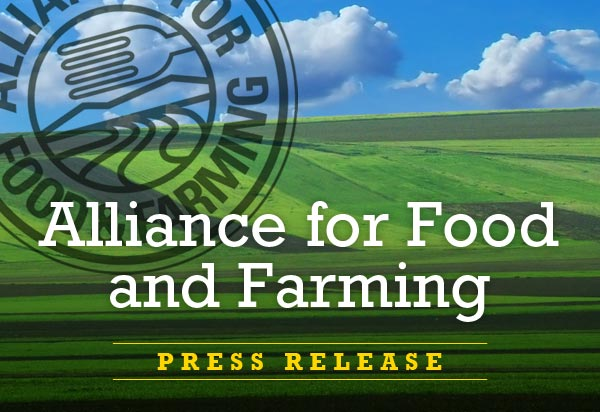 Alliance for Food and Farming