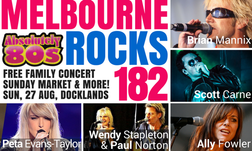 Melbourne Day concert and family festival