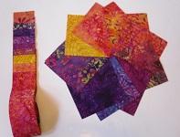 Batik Strip roll and nickel pack