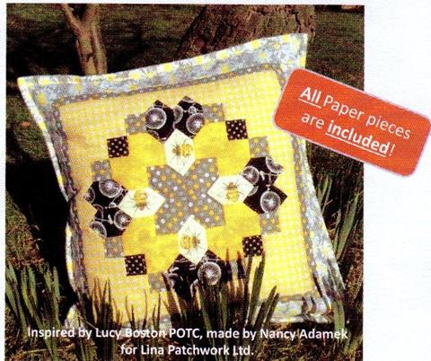 Busy Bee cushion pattern from Lina Patchwork