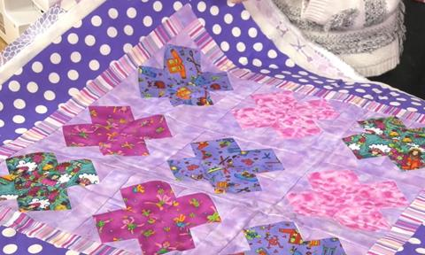 Peyton Quilt from Fat Quarter Baby Book