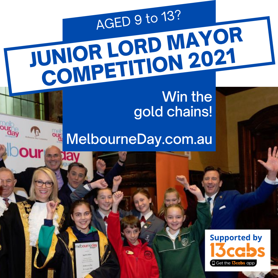Junior Lord Mayor judging ceremony at Melbourne Town Hall