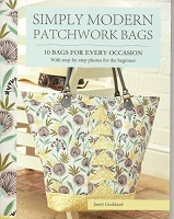 Simply Modern Patchwork bags by Janet Goddard