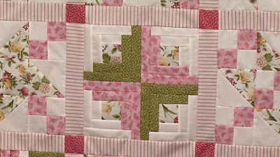 Log Cabin - Block 9 of Your First Sampler Quilt