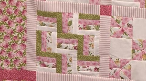 Rail Fence - Block 1 of Your First Sampler Quilt with Valerie Nesbitt