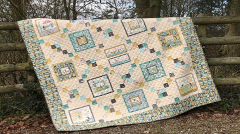 Makower's A Walk in the Park quilt with Valerie Nesbitt