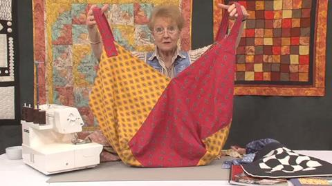 Serging Sling Bag with Jennie Rayment