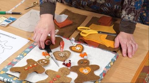 Gingerbread Men with Kate Percival