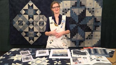 Meet Janet Clare  and her Nocturne fabric range.