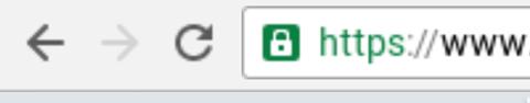 Padlock and HTTPS