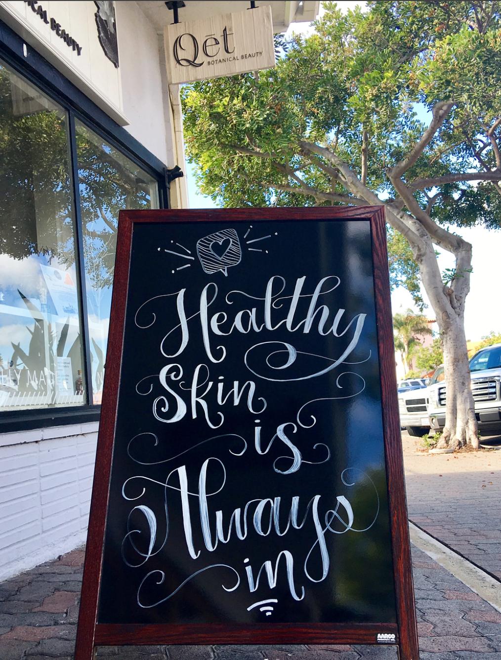 Qēt Botanicals San Clemente skin studio