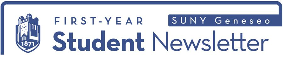 SUNY Geneseo First-Year Newsletter