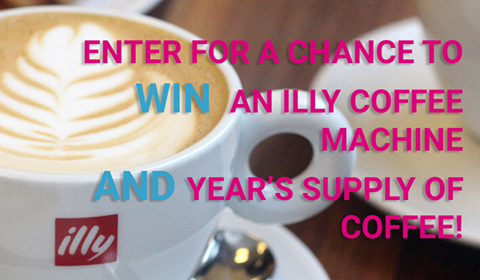 Win a year's supply of coffee