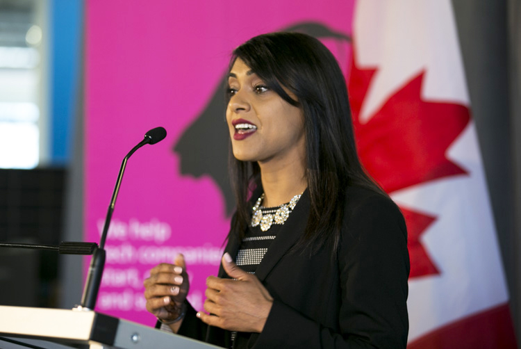 Bardish Chagger, Canada's Minister of Small Business and Tourism