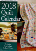2018 Quilt Calendar