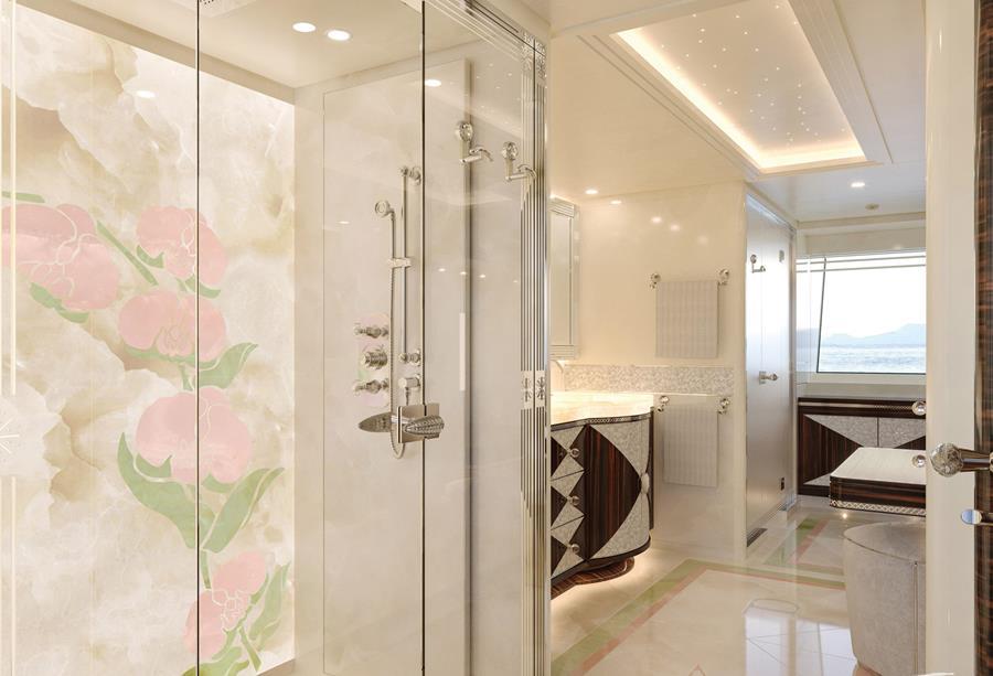 Onyx Yacht Bathroom