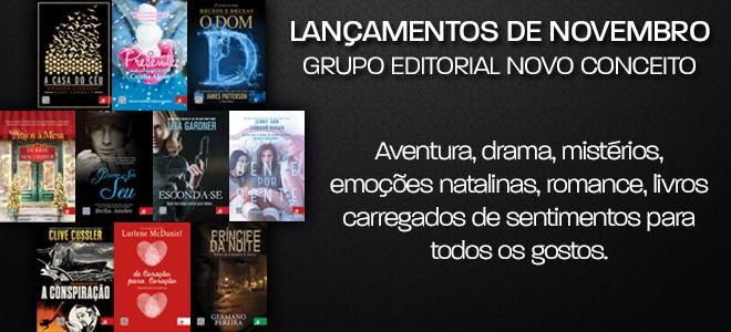 Lançamentos do Grupo Editorial Novo Conceito