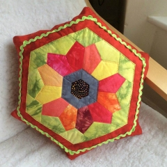 Full Bloom cushion