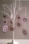 Snowflake Hexagons kit from Daisy Chain Designs