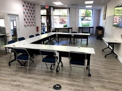 Meeting Center at Cary Quilting Company