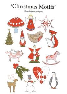 Christmas Motifs Applique pattern by Kjersti Smith