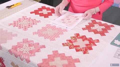 Little Sweethearts quilt with Valerie Nesbitt