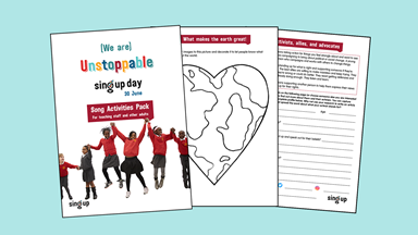 Sing Up Day resources