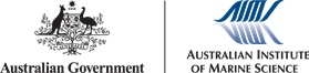 AIMS logo and Australian Government crest