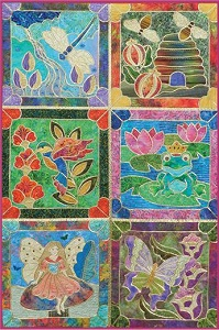 Enchanted Garden Stained Glass Pattern