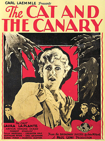 The Cat and the Canary image