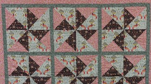 Chieveley Quilt from Lewis & Irene with Valerie Nesbitt