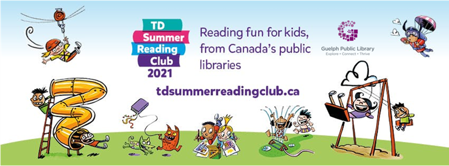 Reading fun for kids from Canada's public libraries! Learn more at www.guelphpl.ca/summerreading.