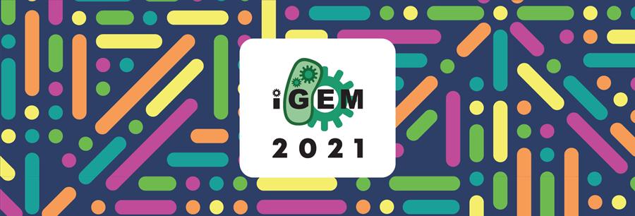 iGEM 2021 newsletter banner