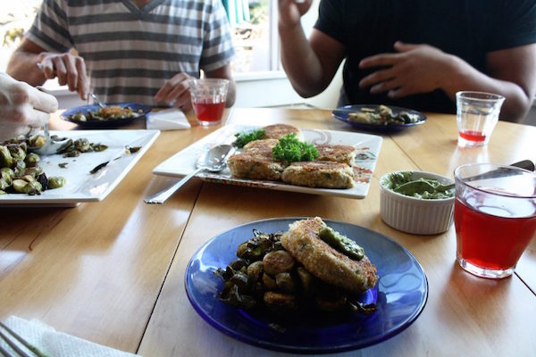 JOSEPHINE HELPS PEOPLE GET HOME COOKED MEALS FROM NEIGHBORS