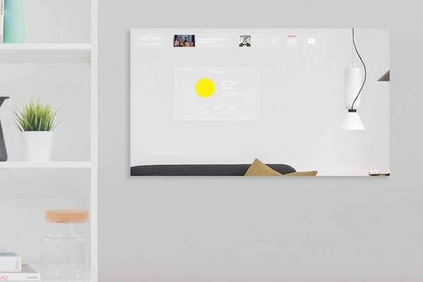 DUO, AN AI-POWERED, VOICE-COMMANDED MIRROR-COMPUTER