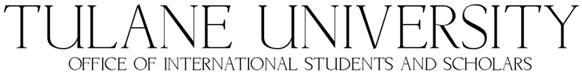 Tulane University Office of International Students and Scholars