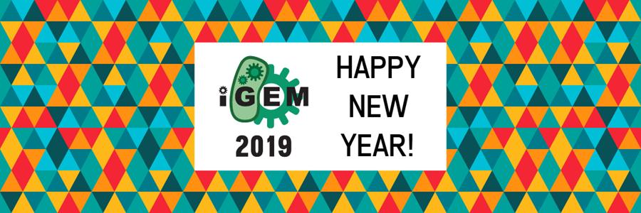 iGEM 2019 - Happy New Year!