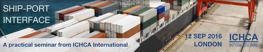 ICHCA Ship-Port Interface Seminar