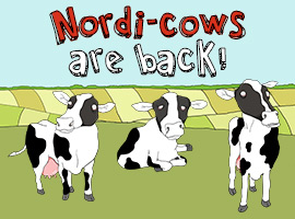 Picture of: Nordi-Cows are back!