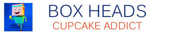 Box Heads Cupcake Addict