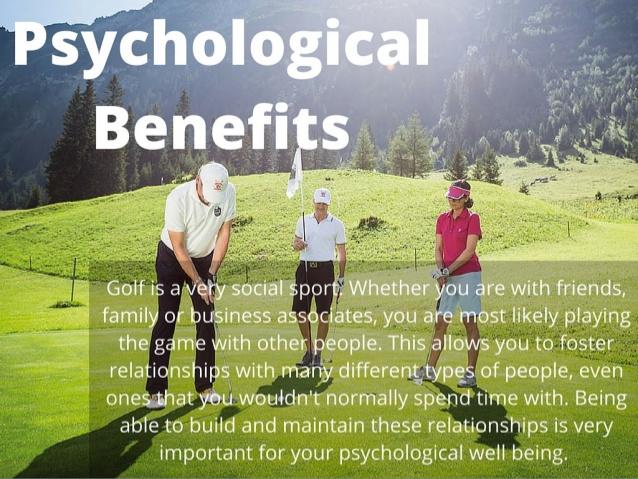 Golf Psychological Benefits