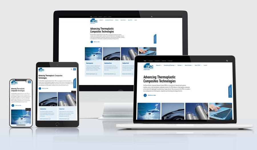 New website responsive design