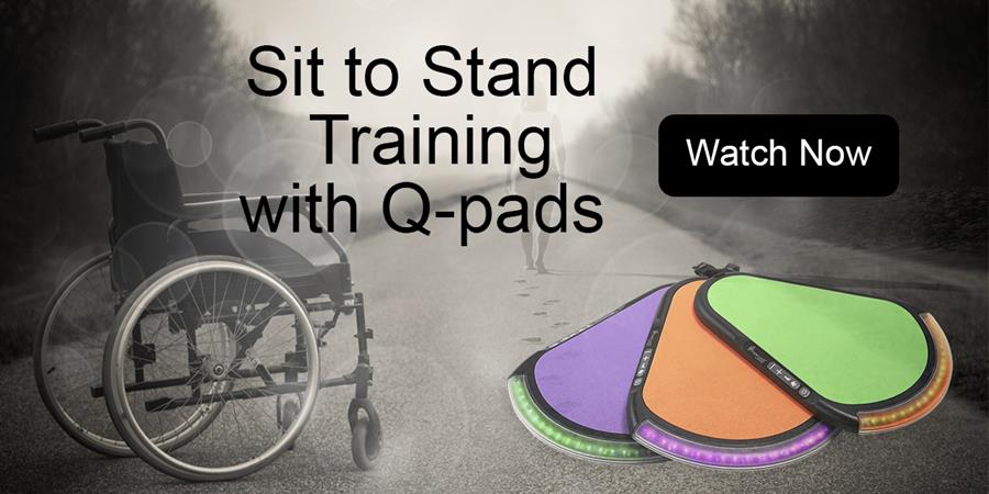 Q-pads sit to stand video