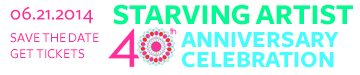 Click for early-bird tickets to Starving Artist