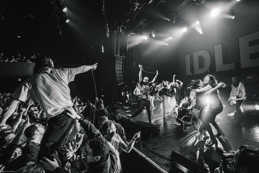 IDLES announce Bataclan live album