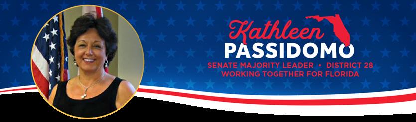 Senator Kathleen Passidomo's Weekly Update