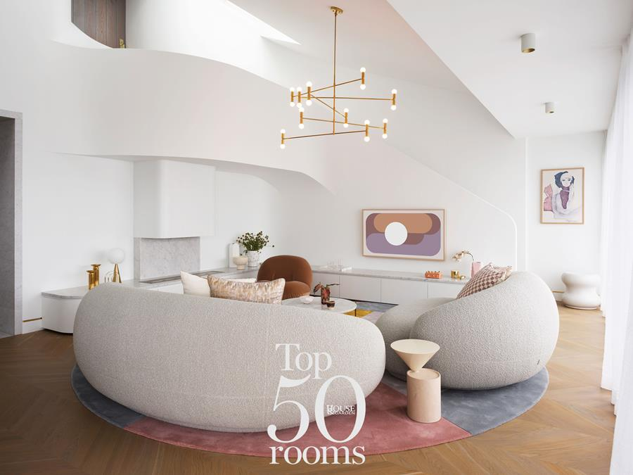 Top 50 Rooms award - best Room of the year House and Garden