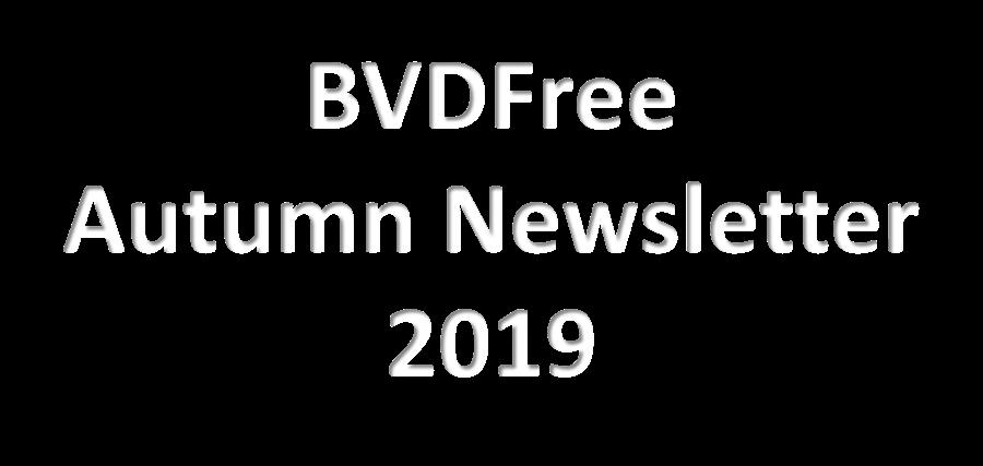 BVDFree Autumn Newsletter 2019